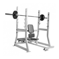 Preowned precor olympic benches