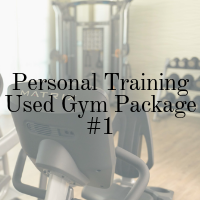used fitness equipment package